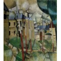 Пейзаж  (Landscape), 1912-1913 - Леже, Фернан