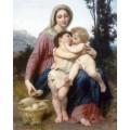 Святое семейство - Бугро, Адольф Вильям