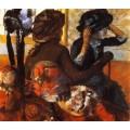 У модистки, 1883 - Дега, Эдгар