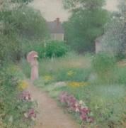 Прогулка в саду - Грейсен, Эдмунд Уильям