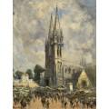 Церковь в Нормандии - Боггс, Фрэнк Майерс