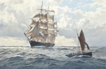 Твид, проходящий рыбацкую лодку - Дьюз, Джон Стивен