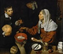 Старая кухарка - Веласкес, Диего