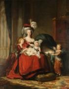 Королева Франции Мария-Антуанетта с детьми - Виже-Лебрён, Мари Элизабет Луиза