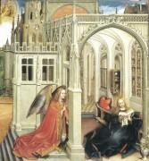 Благовещенье, 1418 - Кампен, Робер