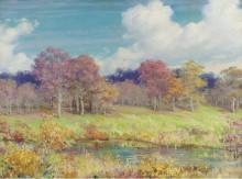 Осенний пейзаж, 1928 -  Каран, Чарльз Кортни