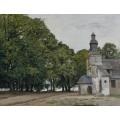 Часовня Нотр-Дам-де-Грас, Онфлер, 1864 - Моне, Клод