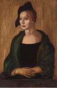 Портрет красивой г-жи М. II - Лемпицка, Тамара