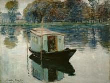 Лодка-мастерская - Моне, Клод
