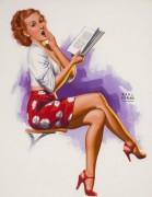 Девушка с книгой - Моран, Эрл
