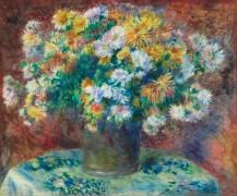 Хризантемы - Ренуар, Пьер Огюст