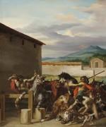 Скотный рынок - Жерико, Теодор Жан Луи Андре