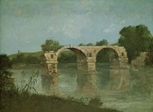 Мост в Амбруссуме - Курбе, Гюстав