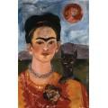 Автопортрет с портретом Диего 1953-54 г. - Кало, Фрида