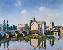 Мост Море под солнцем - Сислей, Альфред