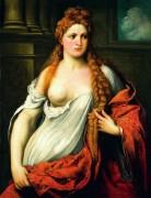 Портрет молодой женщины - Бордоне, Парис
