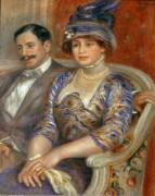 Месье и мадам Бернхайм де Вильер - Ренуар, Пьер Огюст