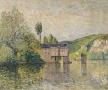 Водяная мельница в Лез-Андели, 1902 - Мофра, Максим