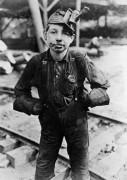 Мальчик  на шахте - Викс, Льюис Хайн