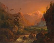 Закат над Дахштайном - Альтенкопф, Йозеф