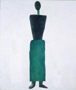 Женская фигура - Малевич, Казимир