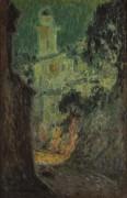 Улица под луной, Вильфранш-сюр-Мер, 1926 - Сиданэ, Анри Эжен Огюстен Ле