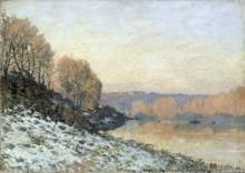 Снег в Пор-Марли - Сислей, Альфред