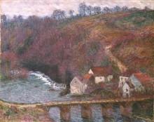Гран-Крёз с мостом у деревушки Верри - Моне, Клод