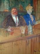 В баре - Тулуз-Лотрек, Анри де