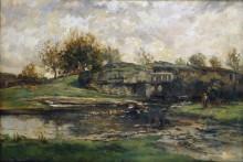 Пейзаж в Нормандии - Добиньи, Шарль-Франсуа