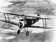 Истребитель в полете