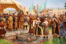 Прибытие ибн-Фадлана на реку Итиль