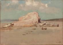 Скалы на пляже - Редон, Одилон