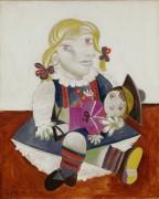 Мария с куклой - Пикассо, Пабло