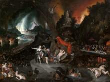 Эней и сивилла в царстве Аида - Брейгель, Ян (младший)