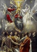 Коронование Девы Марии - Греко, Эль