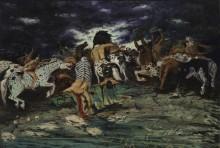 Битва с кентаврами - Кирико, Джорджо де