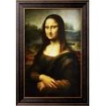 Портрет госпожи Лизы Джокондо. Мона Лиза - Винчи, Леонардо да