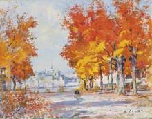 Клены, Квебек (The Maples, Quebec from Levis) - Пилот, Роберт