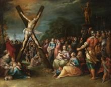 Распятие святого Андрея - Франкен, Франс Младший
