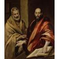 Апостолы Петр и Павел - Греко, Эль