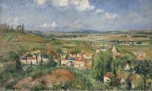 Эрмитаж летом, Понтуаз, 1877 - Писсарро, Камиль