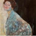 Портрет дамы в белом - Климт, Густав