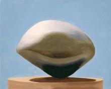 Черный камень на постаменте - О'Кифф, Джорджия