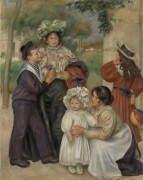Семья художника - Ренуар, Пьер Огюст