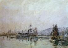 Порт в Онфлёре - Буден, Эжен