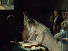 Подписание брачного договора - Лейтон, Эдмунд Блэр