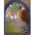 Женщина у окна - Редон, Одилон
