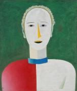 Женский портрет - Малевич, Казимир