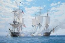 Морское сражение, во время которого Королевский корабль Шеннон захватил американский фрегат Чесапик, 1 июня 1813 год - Дьюз, Джон Стивен